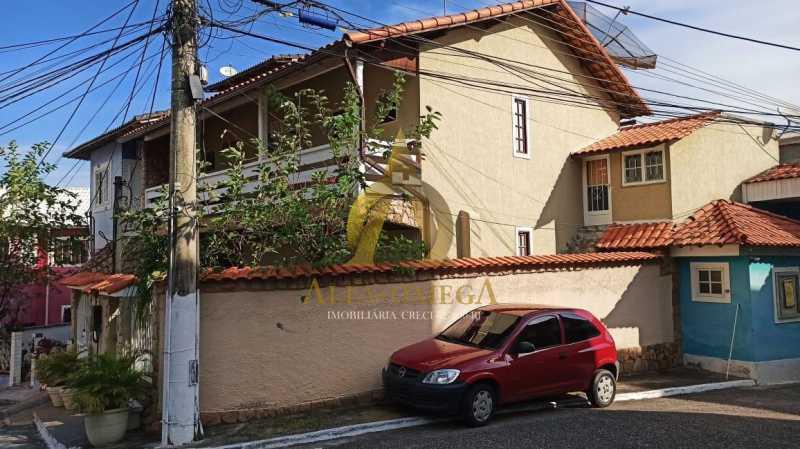 1 - Casa em Condomínio Rua São Calisto,Tanque, Rio de Janeiro, RJ À Venda, 4 Quartos, 340m² - AOJ60094 - 3