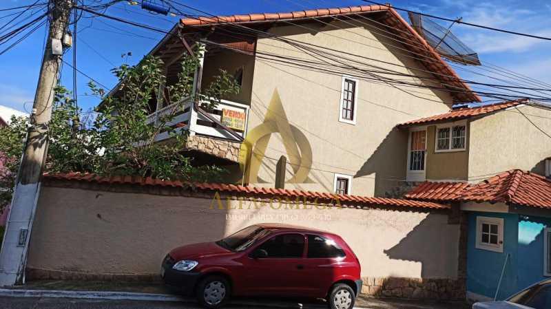 8 - Casa em Condomínio Rua São Calisto,Tanque, Rio de Janeiro, RJ À Venda, 4 Quartos, 340m² - AOJ60094 - 4