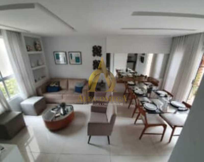 1 - Casa em Condomínio à venda Rua Geminiano Gois,Freguesia (Jacarepaguá), Rio de Janeiro - R$ 832.200 - AOJ60097 - 3