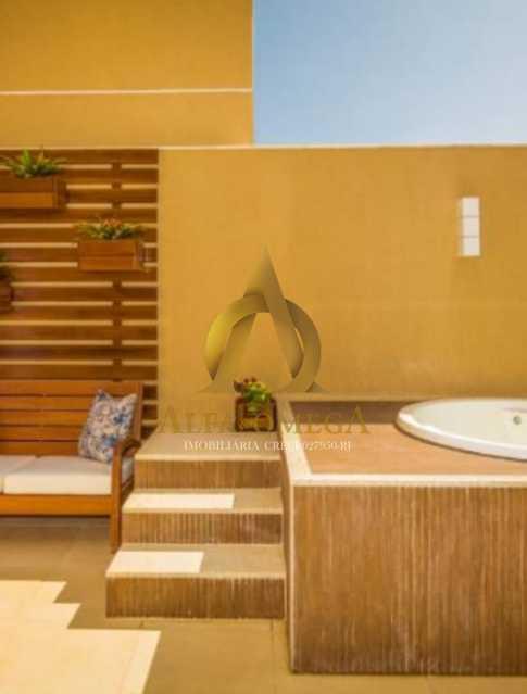 4 - Casa em Condomínio à venda Rua Geminiano Gois,Freguesia (Jacarepaguá), Rio de Janeiro - R$ 832.200 - AOJ60097 - 21