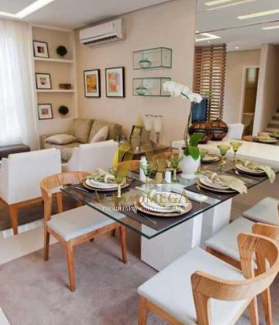 5 - Casa em Condomínio à venda Rua Geminiano Gois,Freguesia (Jacarepaguá), Rio de Janeiro - R$ 832.200 - AOJ60097 - 5