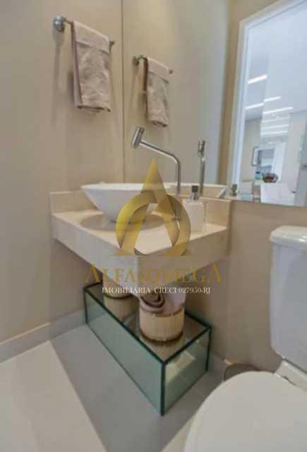 9 - Casa em Condomínio à venda Rua Geminiano Gois,Freguesia (Jacarepaguá), Rio de Janeiro - R$ 832.200 - AOJ60097 - 12