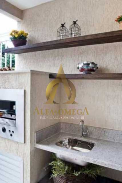 11 - Casa em Condomínio à venda Rua Geminiano Gois,Freguesia (Jacarepaguá), Rio de Janeiro - R$ 832.200 - AOJ60097 - 18