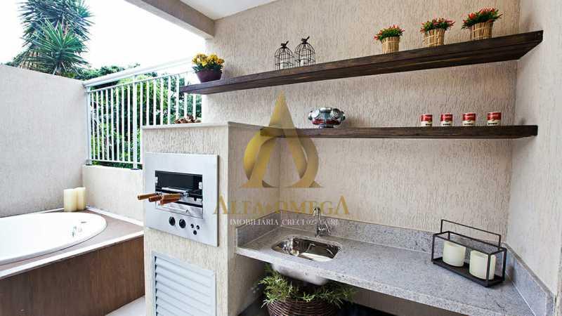 27 - Casa em Condomínio à venda Rua Geminiano Gois,Freguesia (Jacarepaguá), Rio de Janeiro - R$ 832.200 - AOJ60097 - 19
