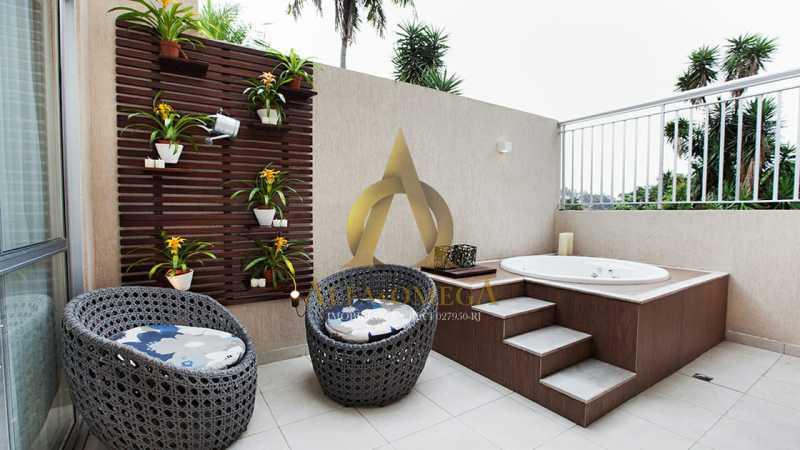 29 - Casa em Condomínio à venda Rua Geminiano Gois,Freguesia (Jacarepaguá), Rio de Janeiro - R$ 832.200 - AOJ60097 - 20