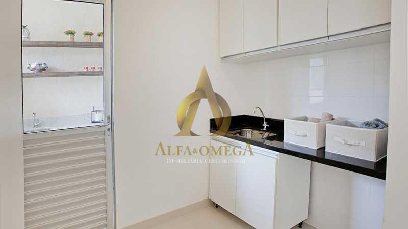 32 - Casa em Condomínio à venda Rua Geminiano Gois,Freguesia (Jacarepaguá), Rio de Janeiro - R$ 832.200 - AOJ60097 - 17