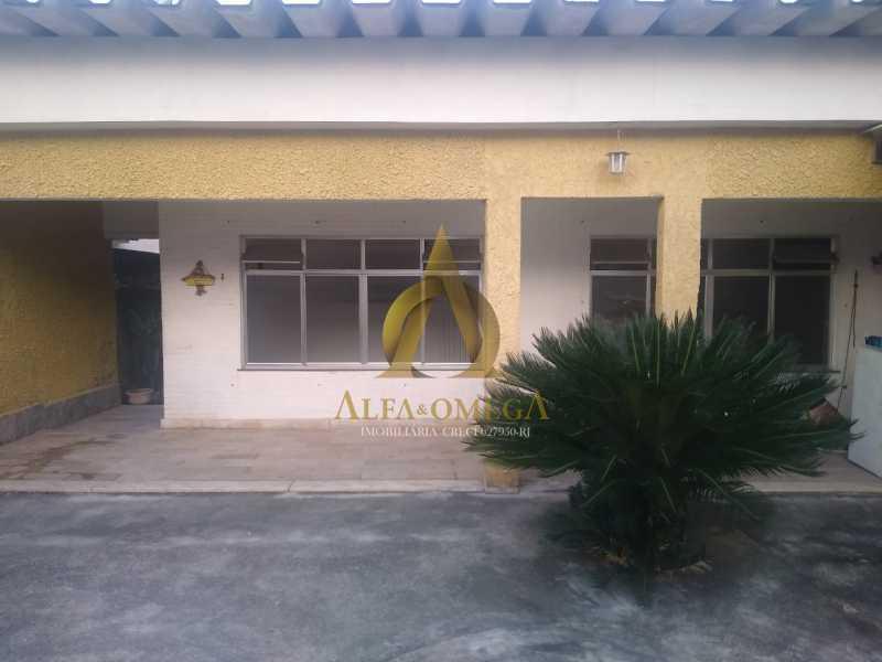 3 - Casa Rua Barreirinhas,Jardim Sulacap, Rio de Janeiro, RJ Para Alugar, 3 Quartos, 110m² - AOJ60041L - 1