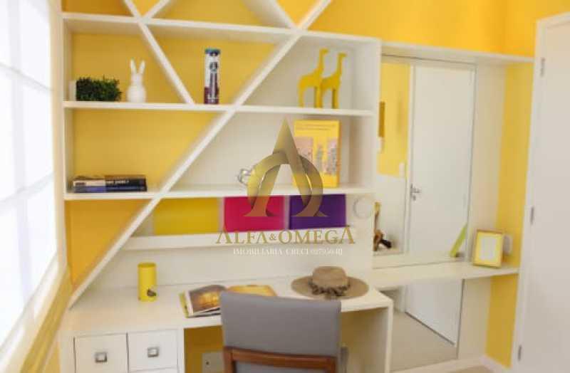 5 - Apartamento Rua Albano,Praça Seca, Rio de Janeiro, RJ Para Venda e Aluguel, 2 Quartos, 62m² - AOJ20210 - 15