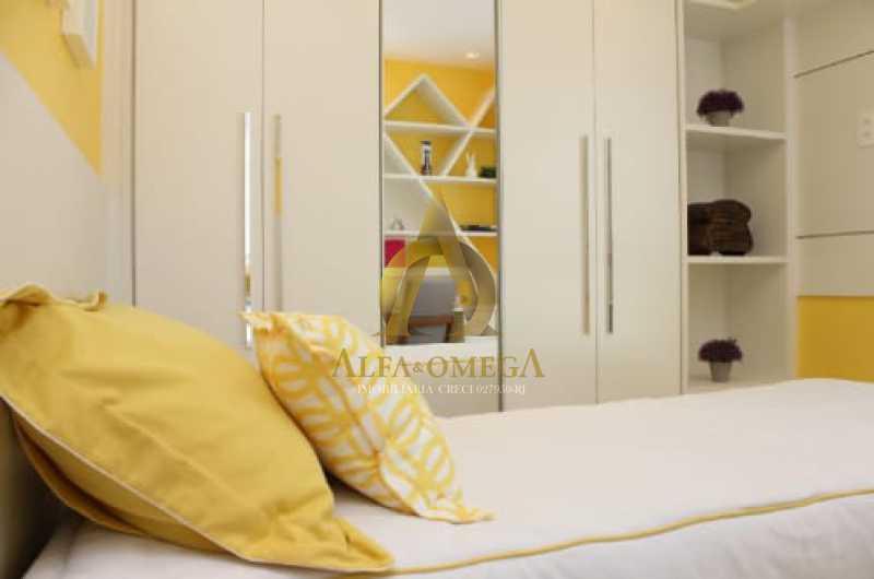15 - Apartamento Rua Albano,Praça Seca, Rio de Janeiro, RJ Para Venda e Aluguel, 2 Quartos, 62m² - AOJ20210 - 14