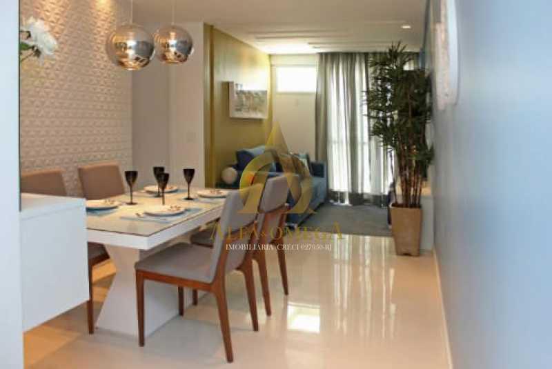 25 - Apartamento Rua Albano,Praça Seca, Rio de Janeiro, RJ Para Venda e Aluguel, 2 Quartos, 62m² - AOJ20210 - 1