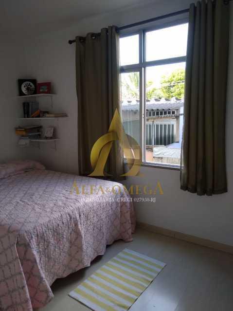 1 - Apartamento à venda Estrada Marechal Miguel Salazar Mendes de Morais,Taquara, Rio de Janeiro - R$ 241.000 - AOJ20211 - 5