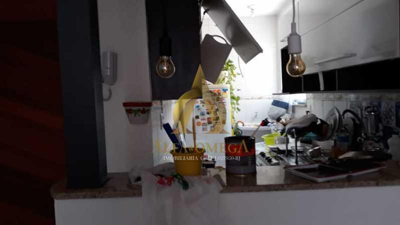 8 - Apartamento à venda Estrada Marechal Miguel Salazar Mendes de Morais,Taquara, Rio de Janeiro - R$ 241.000 - AOJ20211 - 10