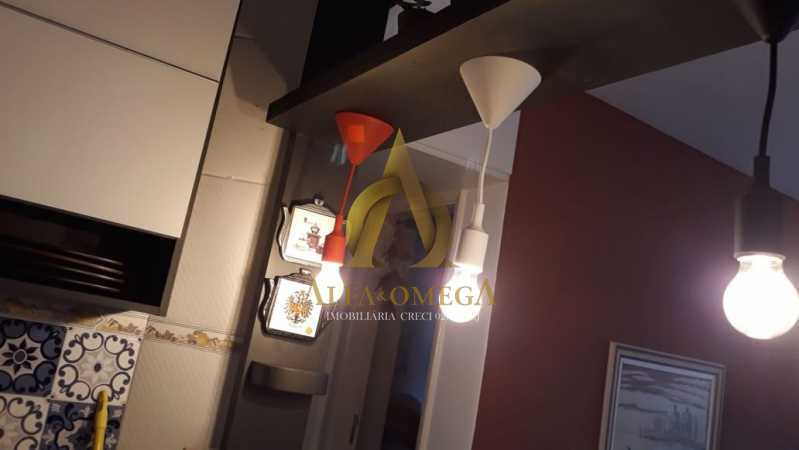 9 - Apartamento à venda Estrada Marechal Miguel Salazar Mendes de Morais,Taquara, Rio de Janeiro - R$ 241.000 - AOJ20211 - 3