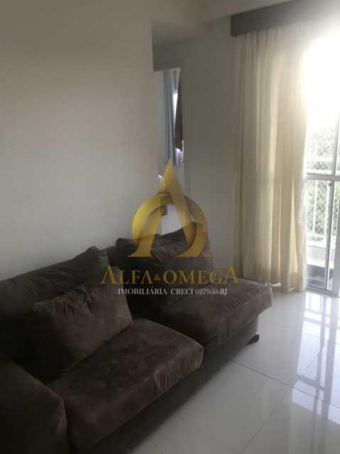 9 - Apartamento Estrada dos Bandeirantes,Curicica, Rio de Janeiro, RJ À Venda, 2 Quartos, 57m² - AOJ20216 - 1