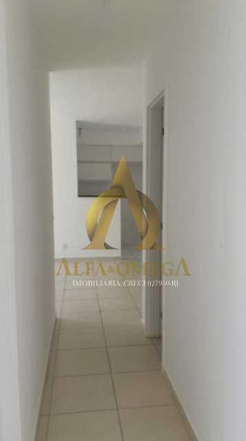 17 - Apartamento à venda Avenida Tim Maia,Recreio dos Bandeirantes, Rio de Janeiro - R$ 405.000 - AOJ20218 - 5