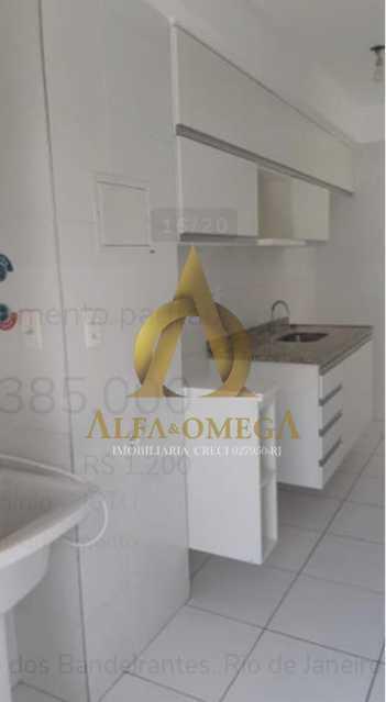 19 - Apartamento à venda Avenida Tim Maia,Recreio dos Bandeirantes, Rio de Janeiro - R$ 405.000 - AOJ20218 - 15