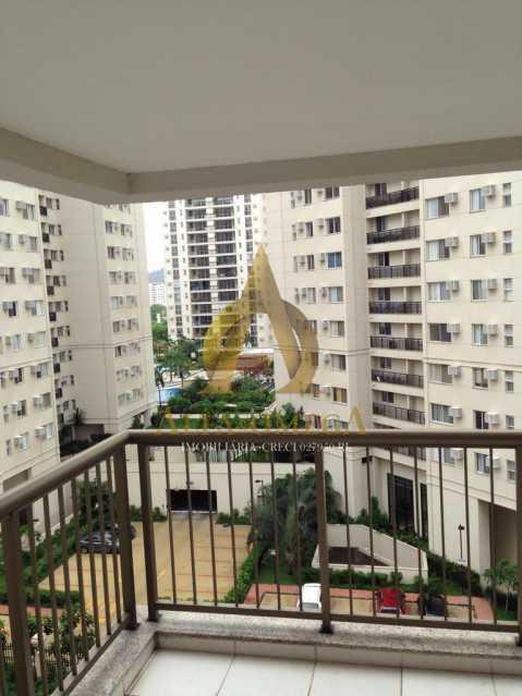 3 - Apartamento Avenida Vice Presidente José de Alencar,Jacarepaguá, Rio de Janeiro, RJ Para Alugar, 2 Quartos, 78m² - AOJ20075L - 5