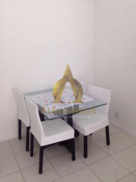 13 - Apartamento Avenida Vice Presidente José de Alencar,Jacarepaguá, Rio de Janeiro, RJ Para Alugar, 2 Quartos, 78m² - AOJ20075L - 6