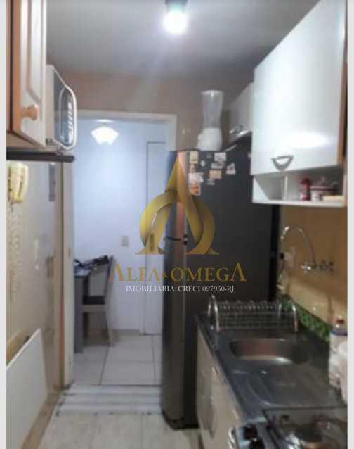 2 - Apartamento Avenida Adolpho de Vasconcelos,Barra da Tijuca, Rio de Janeiro, RJ Para Alugar, 2 Quartos, 58m² - AOJ20077L - 12