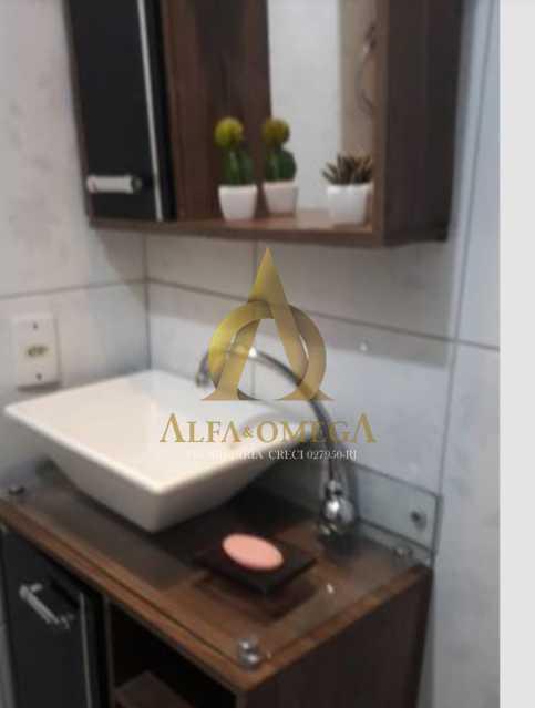 5 - Apartamento Avenida Adolpho de Vasconcelos,Barra da Tijuca, Rio de Janeiro, RJ Para Alugar, 2 Quartos, 58m² - AOJ20077L - 10