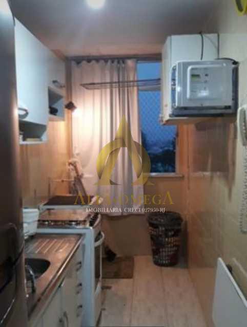 11 - Apartamento Avenida Adolpho de Vasconcelos,Barra da Tijuca, Rio de Janeiro, RJ Para Alugar, 2 Quartos, 58m² - AOJ20077L - 14