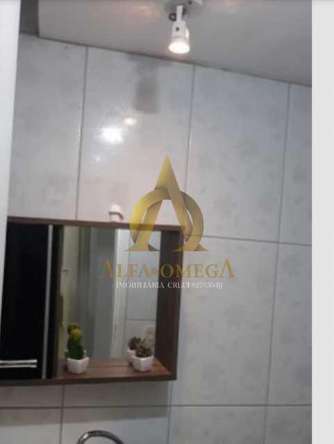 13 - Apartamento Avenida Adolpho de Vasconcelos,Barra da Tijuca, Rio de Janeiro, RJ Para Alugar, 2 Quartos, 58m² - AOJ20077L - 11