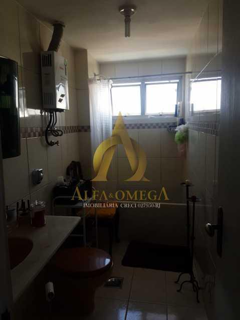 1 - Apartamento à venda Estrada Capenha,Pechincha, Rio de Janeiro - R$ 320.000 - AOJ20222 - 9