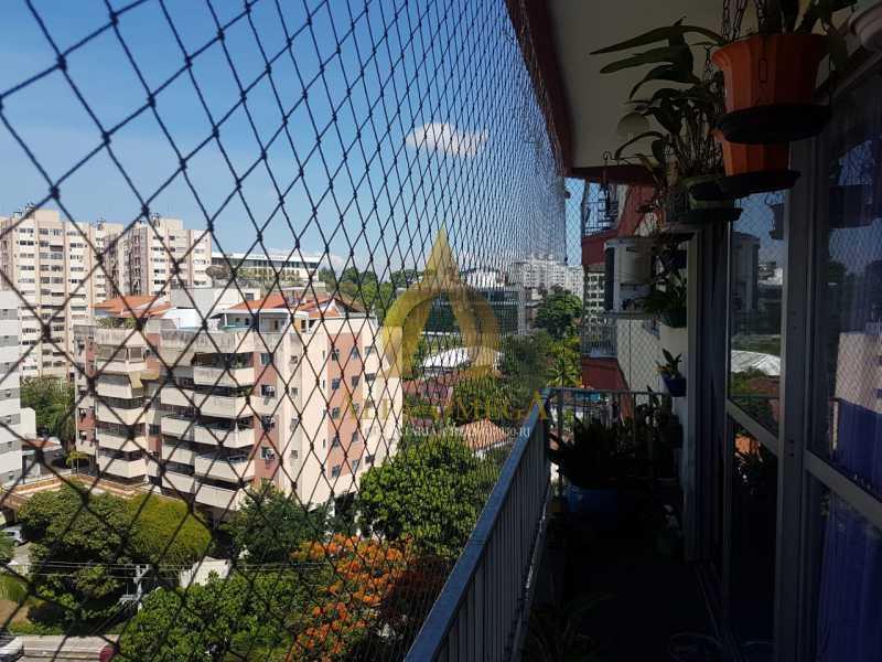 14 - Apartamento à venda Estrada Capenha,Pechincha, Rio de Janeiro - R$ 320.000 - AOJ20222 - 3