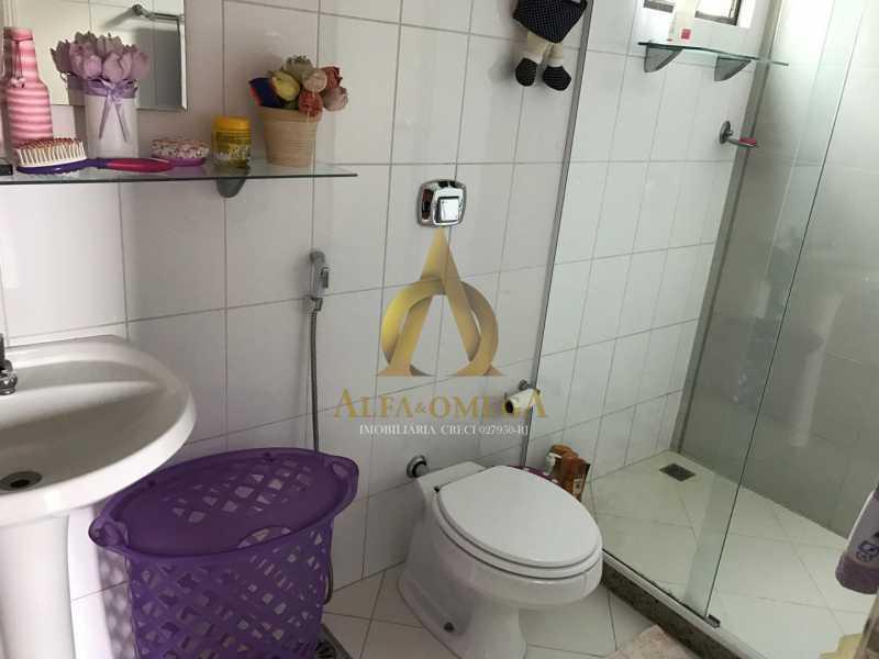 6 - Casa em Condomínio Rua Caniu,Pechincha, Rio de Janeiro, RJ Para Venda e Aluguel, 3 Quartos, 208m² - AOJ60105 - 13