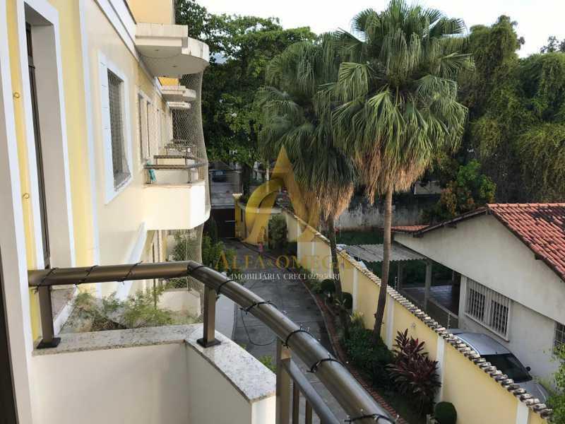 10 - Casa em Condomínio Rua Caniu,Pechincha, Rio de Janeiro, RJ Para Venda e Aluguel, 3 Quartos, 208m² - AOJ60105 - 10