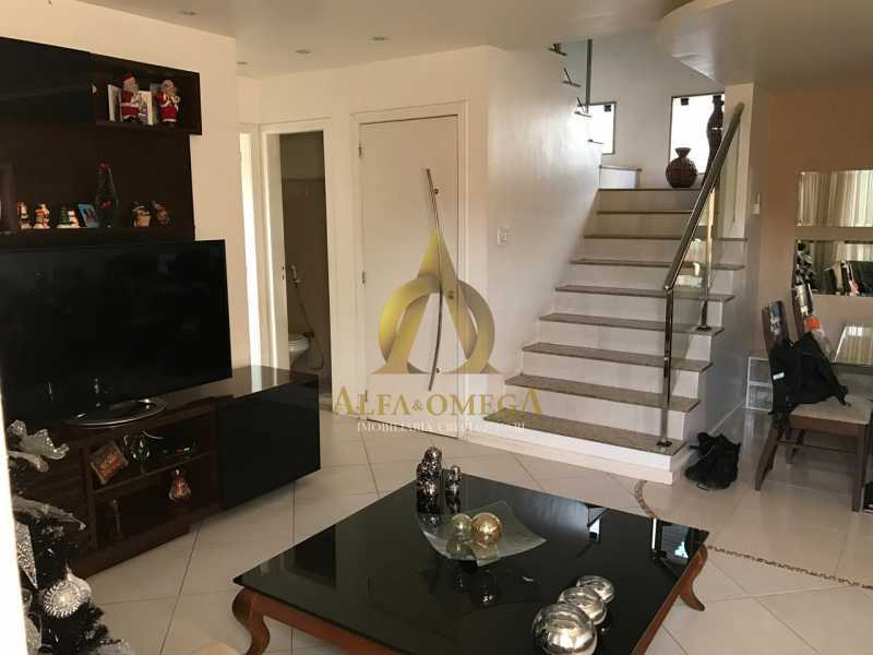 13 - Casa em Condomínio Rua Caniu,Pechincha, Rio de Janeiro, RJ Para Venda e Aluguel, 3 Quartos, 208m² - AOJ60105 - 3