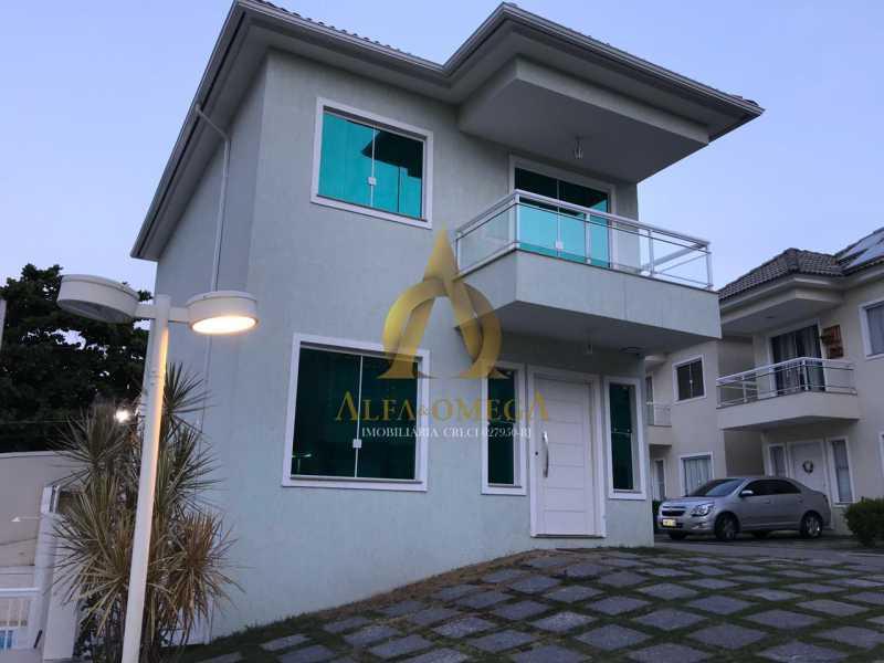 1 - Casa em Condomínio Estrada Campo da Areia,Pechincha, Rio de Janeiro, RJ À Venda, 3 Quartos, 120m² - AOJ60106 - 1