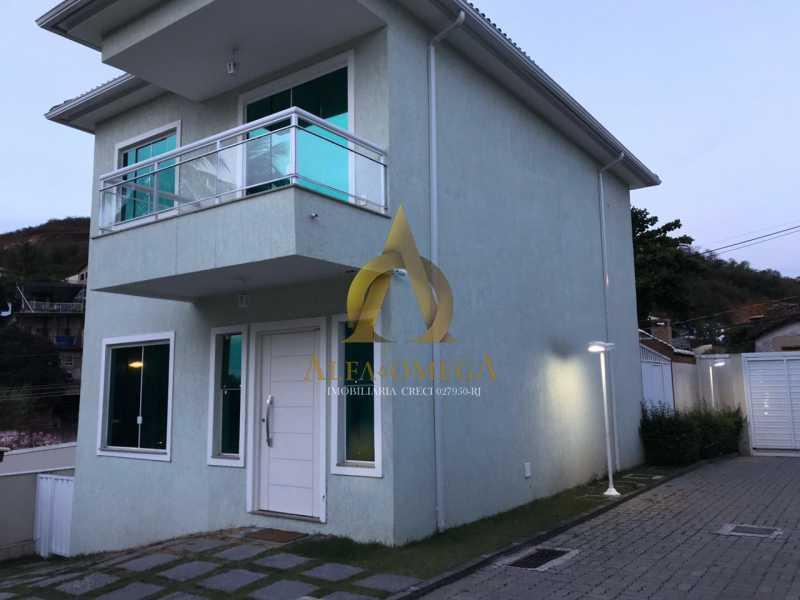 3 - Casa em Condomínio Estrada Campo da Areia,Pechincha, Rio de Janeiro, RJ À Venda, 3 Quartos, 120m² - AOJ60106 - 3