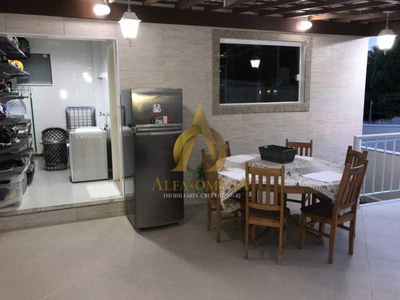 7 - Casa em Condomínio Estrada Campo da Areia,Pechincha, Rio de Janeiro, RJ À Venda, 3 Quartos, 120m² - AOJ60106 - 27