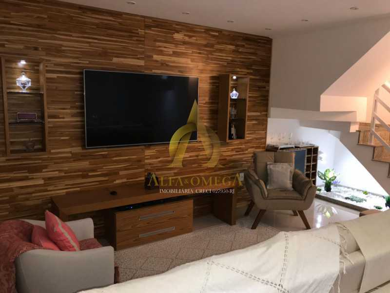 15 - Casa em Condomínio Estrada Campo da Areia,Pechincha, Rio de Janeiro, RJ À Venda, 3 Quartos, 120m² - AOJ60106 - 5