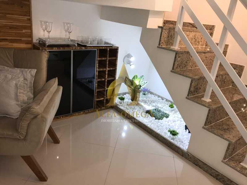 16 - Casa em Condomínio Estrada Campo da Areia,Pechincha, Rio de Janeiro, RJ À Venda, 3 Quartos, 120m² - AOJ60106 - 6