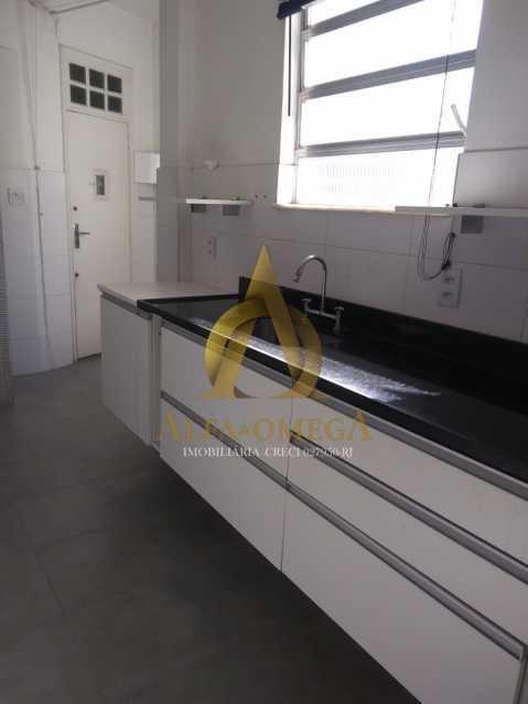 9 - Apartamento à venda Rua Morais e Silva,Tijuca, Rio de Janeiro - R$ 430.000 - AOJ20224 - 1