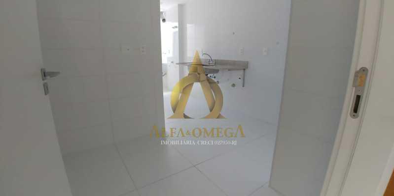 1 - Apartamento à venda Rua Pinheiro Guimarães,Botafogo, Rio de Janeiro - R$ 2.355.000 - AOJ40009 - 8
