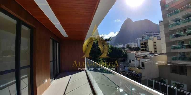 6 - Apartamento à venda Rua Pinheiro Guimarães,Botafogo, Rio de Janeiro - R$ 2.355.000 - AOJ40009 - 3