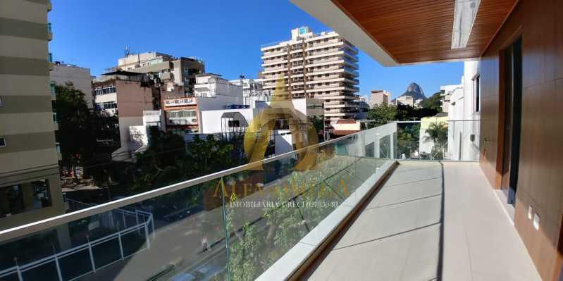 7 - Apartamento à venda Rua Pinheiro Guimarães,Botafogo, Rio de Janeiro - R$ 2.355.000 - AOJ40009 - 4