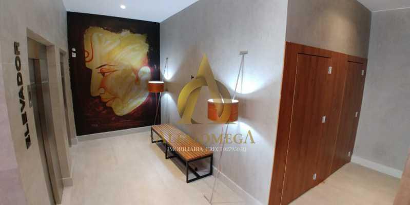 11 - Apartamento à venda Rua Pinheiro Guimarães,Botafogo, Rio de Janeiro - R$ 2.355.000 - AOJ40009 - 10