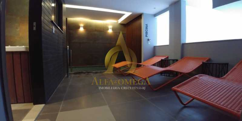 15 - Apartamento à venda Rua Pinheiro Guimarães,Botafogo, Rio de Janeiro - R$ 2.355.000 - AOJ40009 - 12