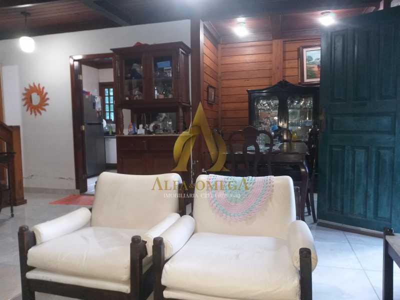 7 - Casa em Condomínio à venda Estrada do Itanhangá,Itanhangá, Rio de Janeiro - R$ 800.000 - AOJC60136 - 3