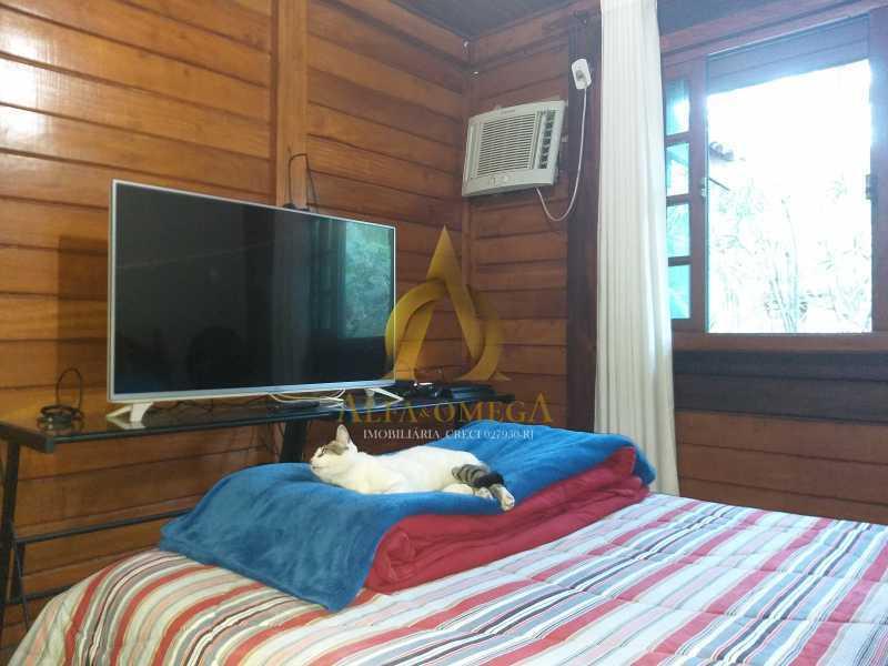 11 - Casa em Condomínio à venda Estrada do Itanhangá,Itanhangá, Rio de Janeiro - R$ 800.000 - AOJC60136 - 10