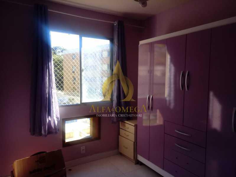 12 - Apartamento à venda Estrada Pau-Ferro,Pechincha, Rio de Janeiro - R$ 320.000 - AOJ20231 - 11