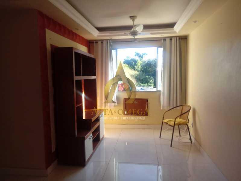 23 - Apartamento à venda Estrada Pau-Ferro,Pechincha, Rio de Janeiro - R$ 320.000 - AOJ20231 - 1