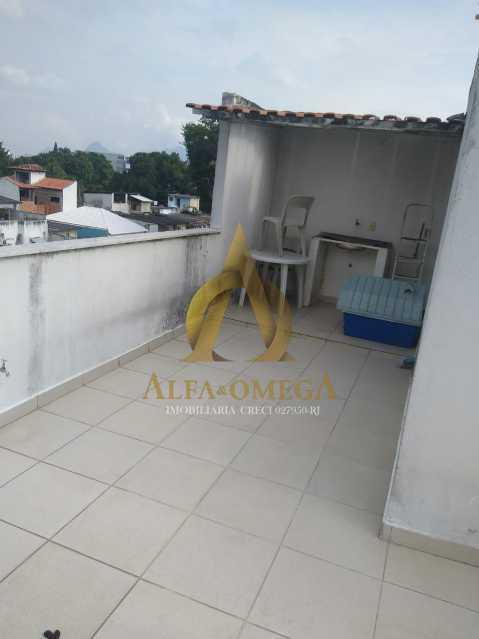 7 - Casa à venda Rua Araticum,Anil, Rio de Janeiro - R$ 480.000 - AOJ60118 - 27