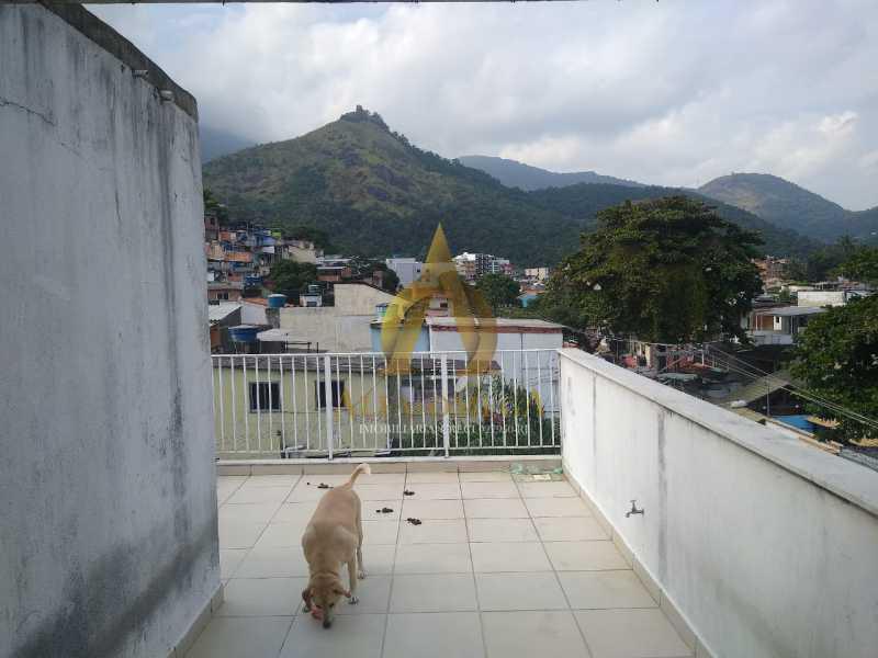 9 - Casa à venda Rua Araticum,Anil, Rio de Janeiro - R$ 480.000 - AOJ60118 - 29