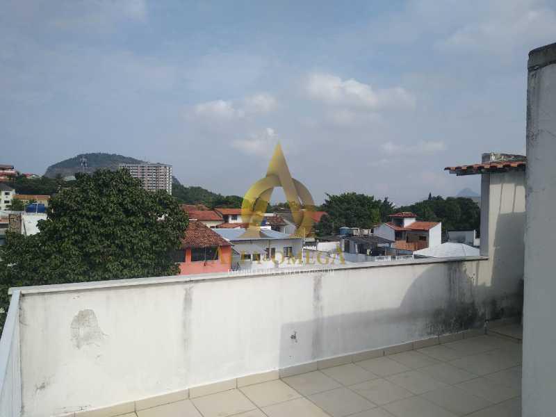 10 - Casa à venda Rua Araticum,Anil, Rio de Janeiro - R$ 480.000 - AOJ60118 - 30
