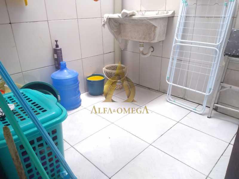 38 - Casa à venda Rua Araticum,Anil, Rio de Janeiro - R$ 480.000 - AOJ60118 - 23